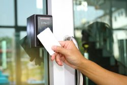Using keycard for access control