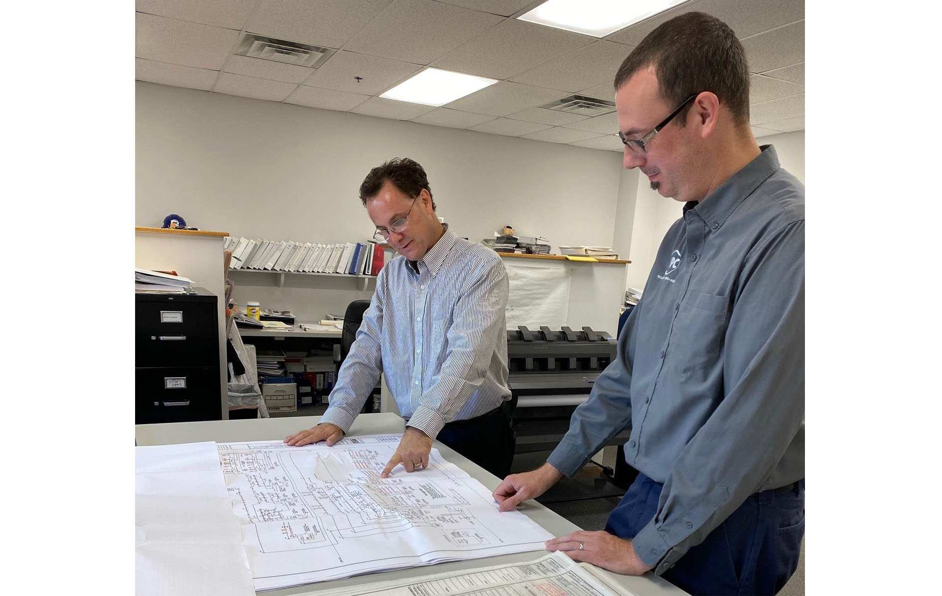 Fire system design specialists at APC