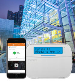 APC Security System Connected to Mobile